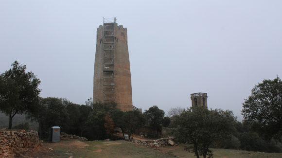 La Torre de Vallferosa tancada per obres