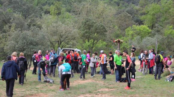 La caminada popular de Torà visita Vallferosa